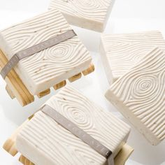 Wood grain soap