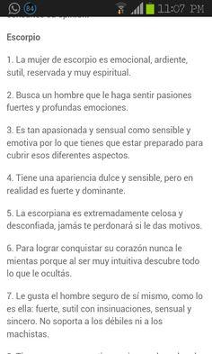 #Escorpio #mujer