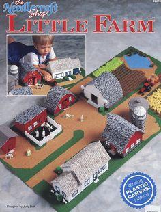 Toy Little Farm TNS Plastic Canvas Pattern Leaflet RARE 30 Days to Shop Amp Pay | eBay