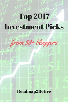 As the new year rolls out, I decided that it would be a fun experiment to run and collect top investment picks for 2017. I reached out to the community of bloggers that I regularly interact with and asked them to participate in this collection. I performed the same exercise and the post garnered a …