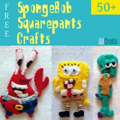 50+ Free Spongebob Squarepants Crafts
