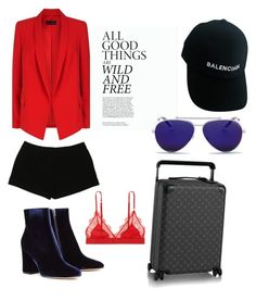 Bandida style by mrouxxi on Polyvore featuring polyvore, fashion, style, ESCADA, Express, LoveStories, Gianvito Rossi, Balenciaga, Alexander McQueen and clothing