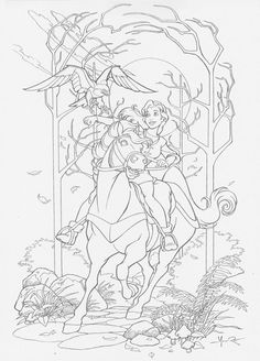 1000 ideas about quest for camelot on pinterest the for Quest for camelot coloring pages
