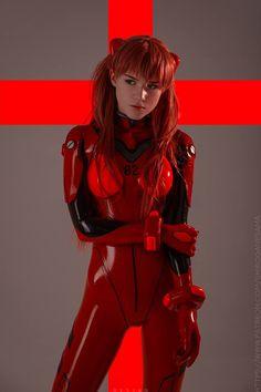 Asuka Langley from Evangelion by Shirogane-sama @ instagram.com/shirogane_sama - More at https://pinterest.com/supergirlsart #shirogane #sama #hot #sexy #cosplay #girl #cosplaygirl #neon #genesis