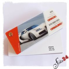 010 weiß matt - Oracal 970 Premium Wrapping Cast - Autofolien - Car Wrapping Folien