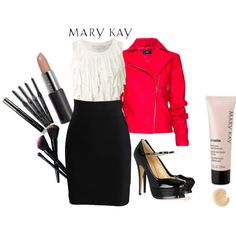 """Red Jacket Syle"" by uhnah on Polyvore"