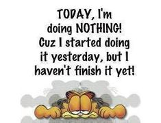 really funny diet saying | Quotes of the Day - Paperblog- Garfield Garfield Quotes, Garfield And Odie, Garfield Comics, Garfield Pictures, Garfield Cartoon, Sunday Morning Quotes, Morning Quotes Images, Tuesday Morning, Lazy Humor