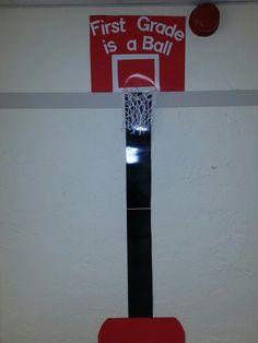 Basketball theme classroom
