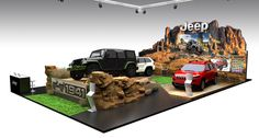 JEEP BOOTH DESIGN FOR PIMS 2016 on Behance Tv Set Design, Trade Show Booth Design, Display Design, Design Design, Graphic Design, Exhibition Stall, Exhibition Booth Design, Exhibition Display, Car Expo