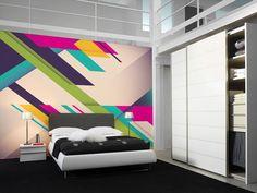 Geometric Art Wall Mural