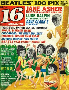 16 Magazine, I LOVED thsi magazine and had lots of them!  Going grocery shopping with Mom always meant the newest issue! :)