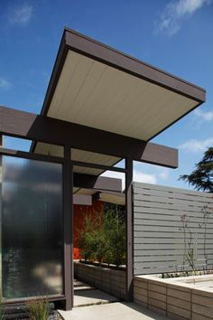 Eichler.  Secret Design Studio knows Mid Century Modern Architecture. www.secretdesigns...