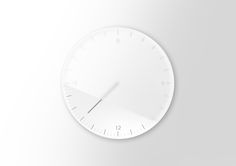 Relax Clock by StudioDWAS #studiodwas #designwithastory #relax #clock #productdesign #pure #white