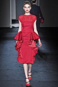 Moschino Fall 2009 Ready-to-Wear Fashion Show - Kim Noorda