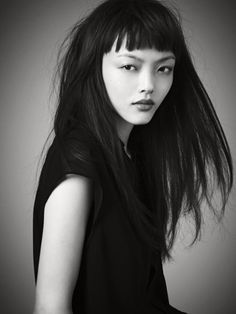 Rila Fukushima (1989) - Japanese fashion model and actress. Photo © Sasaki Tomokazu