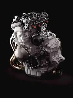 2013 Kawasaki Ninja's 636cc engine.  Beautiful