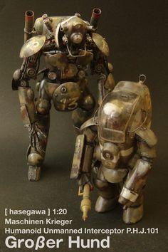 Rocketumblr | [hasegawa]Ma.K. Groβer Hund  [wave] Ma.K. KATZER