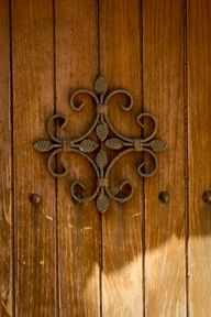 Decorative cross shaped motif on door at #Deyrü'z-Zafaran Monastery, #Mardin, #Turkey