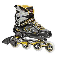 Men 47346: New!Roller Derby Aerio Q80 Inline Skates Mens 12 Q-80 Rollerblades Abec 9 Return BUY IT NOW ONLY: $40.47