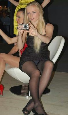 This brilliant upskirt pantyhose hidden real unposed something