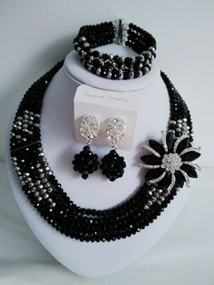 Find More Jewelry Sets Information about Trendy nigerian wedding african beads jewelry set black crystal beads bride jewelry set GG 617,High Quality jewelry tip,China jewelry italian Suppliers, Cheap jewelry family from Chinese jewelry import and export co., LTD on Aliexpress.com