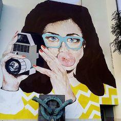 #StreetArt in Funchal Madeira by Barbara Gil. #portugal