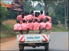 This not uncommon!  Ugandans and most Africans can fit many in one vehicle!  Try that in the USA!