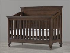 SmartCribs Paula Deen Collection Convertible Crib & Changing Table in Molasses Finish