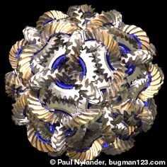 Bucky Gears! Buckminster Fuller would have flipped out