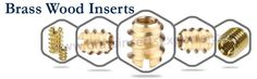 We at #SatishEnterprise are one of the leading manufacturer, exporter and supplier of premium quality of #BrassWoodInserts.