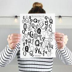 10 Free Hand Letteri