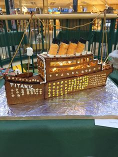 pepparkaksbygge Titanic Gingerbread