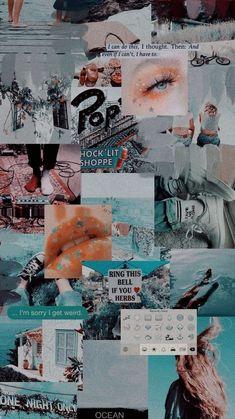 Tumblr Wallpaper, Wallpaper Pastel, Iphone Wallpaper Tumblr Aesthetic, Iphone Background Wallpaper, Retro Wallpaper, Aesthetic Pastel Wallpaper, Blue Wallpapers, Pretty Wallpapers, Aesthetic Backgrounds