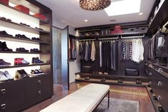 Men's Wardrobe Closet | ... Closet design ideas 2048x1363 trending bespoke walk in closets