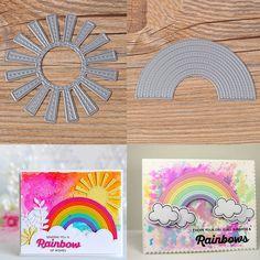 Sunny Skies Metal Cutting Dies Stencils Scrapbooking Album Embossing Craft DIY #Unbrand