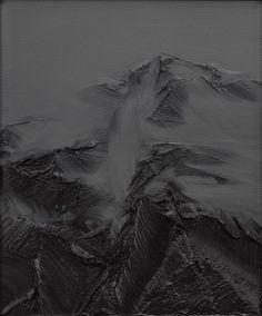 zwischen himmel und erde nr. 22, 2008, 60x50 cm, oil on canvas