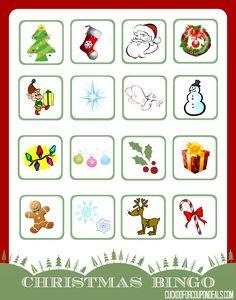FREE Christmas Bingo Printables!