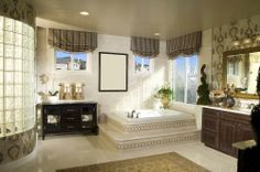 A beautiful bathroom calls for a gorgeous décor, but what really makes a bathroom stand out is a grand bath #tub!