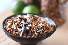 Fake Food Free: Coconut Lime Granola