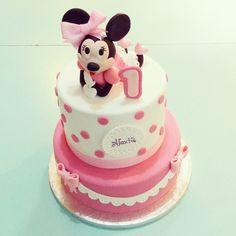#minnie #cake#pink#lapequeñapasteleriademama
