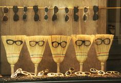 glasses .. and brushes