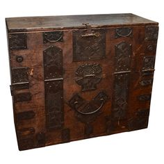 Korean Style Chest | From a unique collection of antique and modern furniture at https://www.1stdibs.com/furniture/asian-art-furniture/furniture/