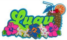 Paper Wizard Hawaii Collection Die Cuts Luau | eBay