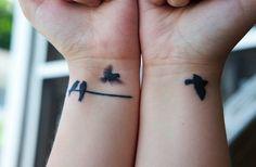 Here view Wrist tattoo designs.Small wrist tattoo designs ideas for women.For bird tattoo designs for Wrist and Small bird wrist Tattoos for all Girly Tattoos, Wörter Tattoos, Small Bird Tattoos, Wrist Tattoos, Word Tattoos, Cute Tattoos, Beautiful Tattoos, Picture Tattoos, Bracelet Tattoos