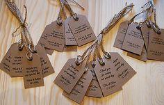 Personalised Wedding Gift/Favour Tags Packs 10,25,50-Vintage Luggage Label Kraft