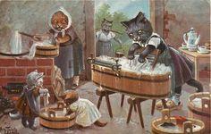 Arthur Thiele ~ vintage Oilette postcard