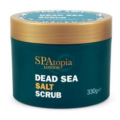 Dead Sea Salt Scrub, SPAtopia.  Nykundsrabatt 10% ange koden SPASOL i kassan.