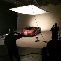 Car Shoot in Stage A