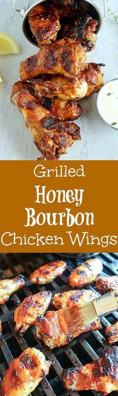 Grilled Honey Bourbo