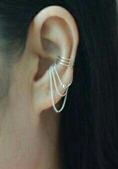 42 bästa bilderna på Ear Cuffs | Smycken, Örhängen och